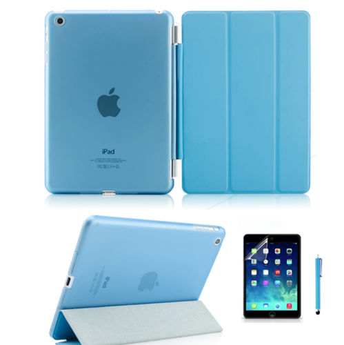 iPad Air 2 Magnetic Slim Cover with Hard Back Case